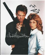 Terminator - photo signed by Michael Biehn & Linda Hamilton