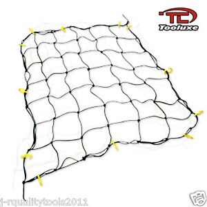 "New Truck Bed Cargo Net 36"" x 60"" with 16 Nylon Hooks Stretches to 60"" x 90"""