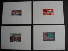 MAURITANIA 4 colourful proofs, have a look at them!  PLZ read description