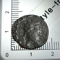 H04102 romaine antoninien de gallien cerf 267-268 ric 179