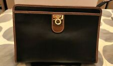 Authentic Vintage Celine Logo Leather Pouch Clutch Bag