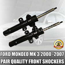 Ford Mondeo Mk3 Front Shock Absorbers TDCi Pair 2000-2007 Shockers Shocks