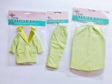 "FM Boulevard Fashion Doll 11.5"" Silk 3pc Slim Skirt Suit 60's Inspired New Mint"