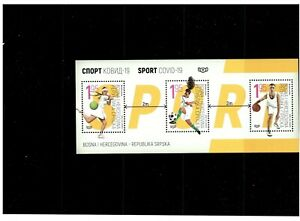 Bosnia-Republic of Srpska 2020 block SPORT  MNH