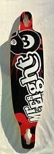 "FREERIDE Longboard drop through quality skateboard 40 x 10"" MISTER 8 D08"
