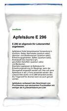Apfelsäure DL für Lebensmittel und Fruchtwein E296  500 gr