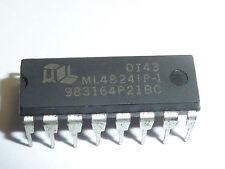ML4824 ML4824P1 Factor De Potencia Corrección PWM 0.7mA 81KHz DIP-16 GB VENDEDOR