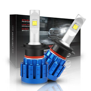 2PC H7 60W 9000LM LED Headlight Bulbs Low beam High Power Light 6000K For Honda