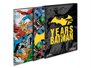 DC Comics Justice League & Batman 75th Anniversary Stamp Collections bundle set