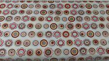 Moda Basic Grey Blush OOP New Fabric Floral Brown Pink Blue 30204-11 BTY 1 Yard