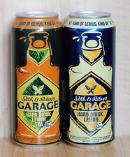Set Empty Cans Beer GARAGE Seth & Riley's from Ukraine. 500 ml. 2019 - 2 pcs.