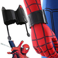 Spiderman Homecoming Peter Web Shooter Cosplay Halloween Wrist Guard Spider Prop
