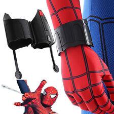 Spiderman Homecoming Peter Web Shooter Cosplay Halloween Wrist Guard Spider Prop