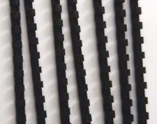 12mm Black Binding Combs 14 Ring For Comb Binder A5 10x