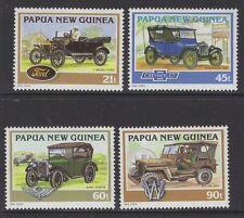 PAPUA NEW GUINEA SG725/8 1994 HISTORICAL CARS MNH