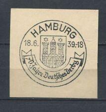 German Reich WW II : Fancy cancel from 1939 - Hamburg
