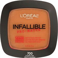 LOREAL Infallible Pro Matte 16Hr Powder Classic Tan 700 NEW