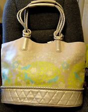 NWT AUTH.Vera BradleyResort LG CANVAS TOTE & WALLET 'SITTIN IN A TREE' 2010-RARE