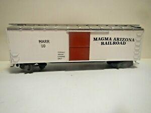 HO Custom Vintage Wood Box Car Magma Arizona Railroad #10 Copper Loadng KDs