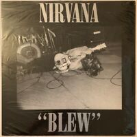 """NIRVANA BLEW 12"""" 4 TRACK EP TUPELO 1989 IN SHRINK WRAP MINT CONDITION"""