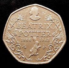 50p Coin 2016 Beatrix Potter FREEPOST