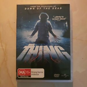 The Thing DVD Region 4