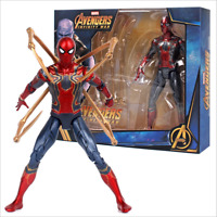 Marvel Avengers 3 Infinity War Iron Spiderman Spider-Man 7 Action Figure Toy New