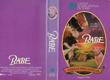 BABE - Australian Movie Convention-VHS-PAL-NEW-Never played-Original Oz release