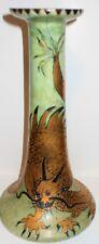 FAB Art Deco Golden Dragon Candlestick, Hand Painted, Bavaria