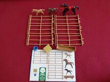 Pferde Koppel mit Zubehör , Playmobil
