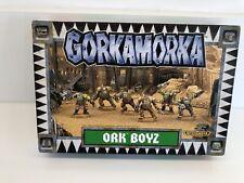 Gorkamorka Space Orks Ork 40k Warhammer boyz Boxed NoS
