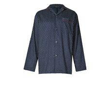 Ex Marks and Spencer Pure Cotton Paisley Print Pyjama Shirt Size M (P221.25)