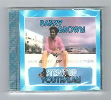 cd : BARRY BROWN-step it up youthman   (new & sealed)   reggae roots