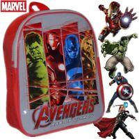 Avengers Kids Children School Travel Rucksack Backpack Bag Iron Man Hulk #5475