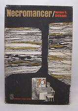 Necromancer - Gordon R. Dickson - First Edition - HC/DJ