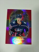 2019-20 Upper Deck Stature Alexandre Texier Portrait Red Parallel Rookie 09/20