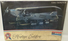 AVIATION : FORD TRIMOTOR MONOGRAM SCALE MODEL KIT (MLFP)