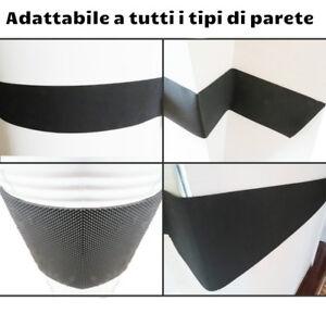 2 Profili paracolpi di parcheggi realizzati in schiuma dotati di adesivo 4 metri