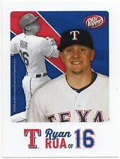 2015 Texas Rangers Dr. Pepper Rangers Ryan Rua Postcard SGA