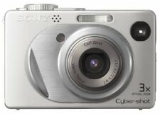 Sony Cybershot DSC-W1 5MP Digital Camera with 3x Optical Zoom Silver