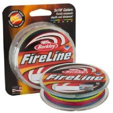 Berkley Fireline 5 x 10' 5-Color Metered Fishing Line - Choice 8,10,14 - New