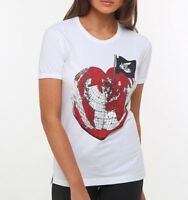 VIVIENNE WESTWOOD ANGLOMANIA Classic Heart T-Shirt ORB Organic Size S RRP £75