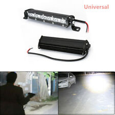 Ultra Thin Single Row LED Spot Work Light Bar Off-Road 8 Inch IP68 Waterproof