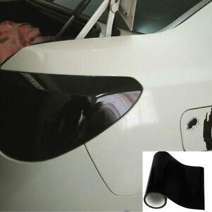 Dark Smoke Protect Vinyl Film Tint Headlight Taillight Fog Wrap Roll Universal