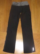 Reebok Black Athletic Pants Fitness Running Work-Out Exercise Teen Girl/Women Xs