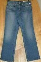 NYDJ Marilyn Straight Leg Ankle Denim Jeans PACIFIC Wash Size 00 0 4 6 8 10 18