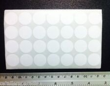 1000pk Removable 34 Round White Self Adhesive Labels Sticker Store Price Tags