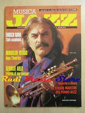 Rivista MUSICA JAZZ 3/1990 Enrico Rava Georgie Auld Miroslav Vitous * No cd