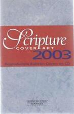 Scripture Cover Art 2003 w/ Manual PC CD reproducible bulletin church images!