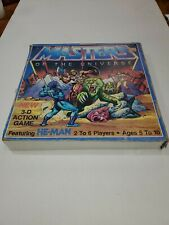 1983 MATTEL MASTER OF THE UNIVERSE 3-D ACTION GAME ROUGH TORN BOX